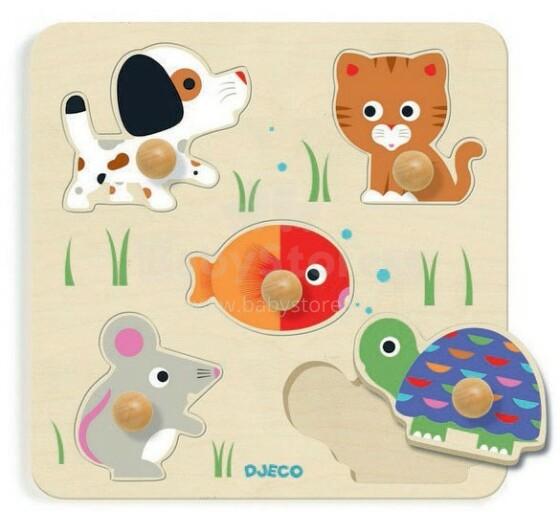 DJECO Wooden Puzzles Attīstošā puzle  DJ01019