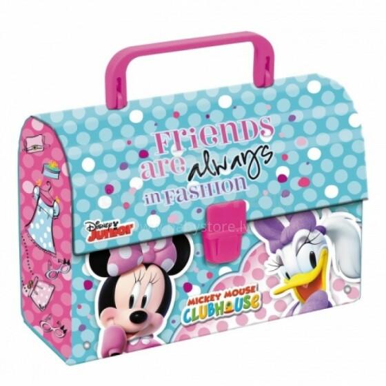 Disney Junior Art.70245 Bērnu stilīgs koferis rotaļlietām, rakstamām 200x145x80mm