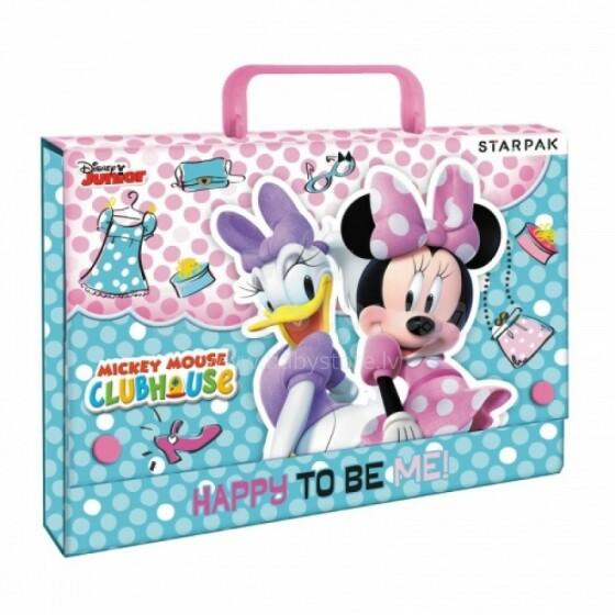 Disney Junior Art.71020 Bērnu stilīgs koferis-mape rakstam piederumiem A4