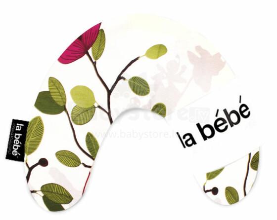 La Bebe™ Mimi Nursing Cotton Pillow Art.3321 Spring Bud Pakaviņš spilventiņš 19x46cm
