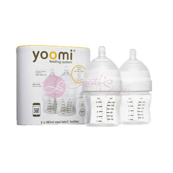 Yoomi Feeding System Art.85905 Bērnu barošanas pudelītes komplekts ,140ml