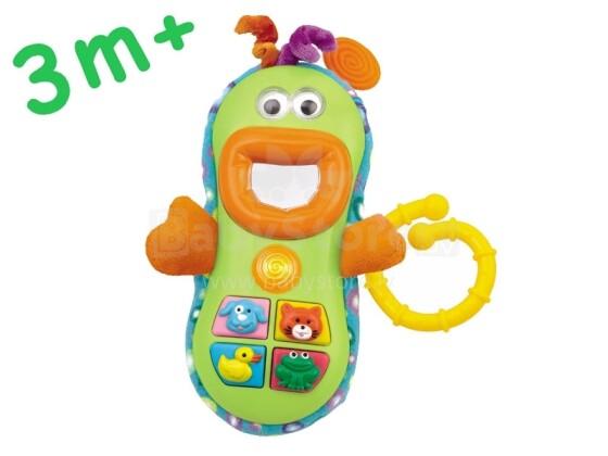 Smily Play Art.0608 Muzikāla interaktīva rotaļlieta telefons ar skaņas un gaismas efektiem