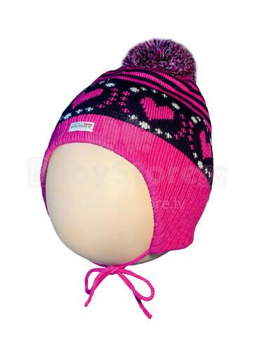 Lenne '17 Knitted Hat Nelly Art.16378 /264 Mazuļu siltā cepure