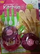 Play Smart Kitchen Set Art.38098  Virtuves trauku komplekts