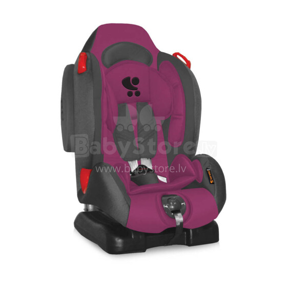 Lorelli Bertoni F2+SPS Violet&Grey  Bērnu autosēdeklis 9-25 kg