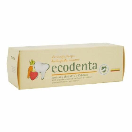 Ecodenta Art.242006  zobu pasta bērniem Zemene, 75ml