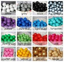 MeowBaby® Color Round Art.104181 Dark Grey  Sauss baseins bez bumbiņam