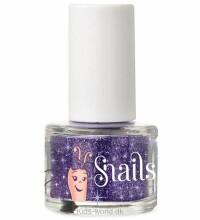 Snails Mini Purple blue glitter Art