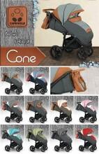 Camarelo Cone Art. CO-2 Bērnu pastaigu rati