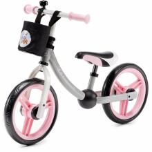 3bffd6ba323 KinderKraft 2WAY Next Art.112823 Pink Детский велосипед - бегунок с  металлической рамой