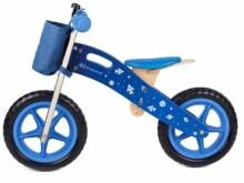 cfc4f164fde KinderKraft'19 Runner Galaxy Art.KKRRUNGBLU00AC Blue Детский велосипед/бегунок  с деревянной рамой
