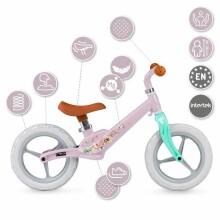Momi Balance Bike Ulti Art.131985 Pink Flower Balansa velosipēds