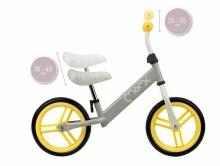 Momi  Balance Bicycle Nash Art.131994 Yellow Balansa velosipēds