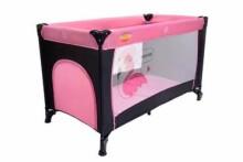 Baby Maxi M2 Basic Col. 727 Pink Bērnu manēža ceļojumu gulta