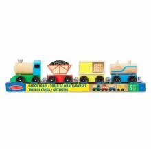 Melissa&Doug Cargo Train Art.10705 Koka vilciens