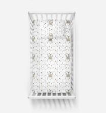 La Bebe™ Set 100x135/60x120/40x60 Art.55659 Bunnies Gultas veļas komplekts 3 -daļīgs