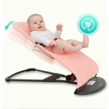 TLC Baby Bouncer Soft Art.173904 Black