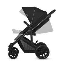 KinderKraft Prime Lite Grey 3 in1 Art.KKWPRLIGRY3000 Universālie rati 3 in1+moderna soma
