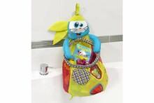 Babymoov Bath Bag Sea Leon Art.A104922 Piestiprināms mantu maisiņš vannas rotaļlietām