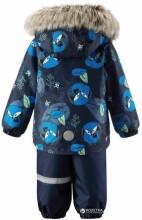 Lassie'18 Lassietec® Dark Blue Art.713714-6961 Silts mazuļu ziemas kostīms: jaka un bikses (98 cm)