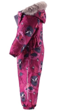 Lassie'18  Lassietec® Pink Art. 710714-4801  Silts bērnu ziemas kombinezons (74 cm)