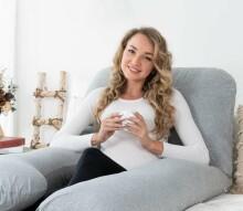 La Bebe™ Cushy Maternity Pillow Art.91913 Daudzfunkcionāls spilvens grūtniecēm (U Shaped) 155x80cm