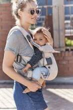 Babybjorn Baby Carrier One Air 3D Mesh Art.098001 Pearly Pink  Ķengursoma - aktīviem vecākiem gariem pārgājieniem