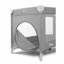 Caretero Basic Art.3943 Green Bērnu manēža ceļojumu gulta