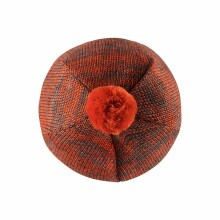 Lassie'18 Orange Art.718733-2891 Bērnu vilnas cepure puikām (1-4)