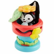 Fisher Price Pop Up Flower Pot Art.DFP91 Attīstošā rotaļlieta Puķpods 9703