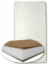 Danpol Art.97534 Comfort II Matracis bērnu gultai kokosšķiedru-porolona-kokos 120x60cm 97534