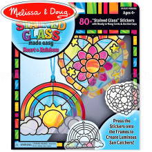 NEW!! Melissa and Doug 19435 Stained Glass Made Easy Princess