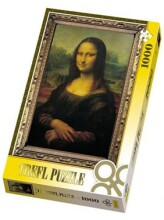 TREFL 10002 Puzzle Mona Lisa 1000