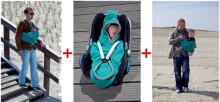 Lodger'14 Shelter Fleece Antracite SH 562  multifunkcionāls slings