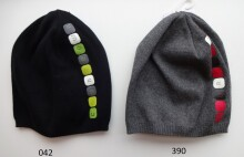 LENNE '14 - Denver art.14280 (52-56 cm) Knitted cap Mazuļu adīta kovilnas cepure sasienamā, krāsa 390