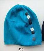 LENNE '14 - Denver art.14280 (52-56 cm) Knitted cap Mazuļu adīta kovilnas cepure sasienamā, krāsa 415