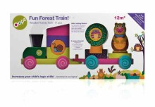 Oops Art.17001.10 Fun Forest Train Koka vilciens
