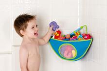 Munchkin Art. 011033 Bath Corner Organiser  - rotaļlietas kabata vannas istabai