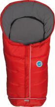 Fillikid Art.8460-13 Kiew Red Footmuff Dūnu ziemas guļammaiss ratiem ar atpogājamo muguru daļu 100 x 50 cm 71980