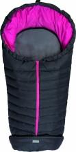 Fillikid Art.8460-62 Kiew dark grey/pink Footmuff Dūnu ziemas guļammaiss ratiem ar atpogājamo muguru daļu 100 x 50 cm 72179