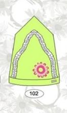 LENNE '15 Marion Art.15270 (48-52cm) Mazuļu kovilnas cepure-lakatiņš, krāsa 102