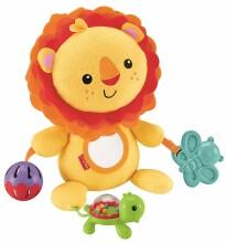 Fisher Price Activity Lion Art. CGN89 Attīstošā mīksta rotaļlieta 79413