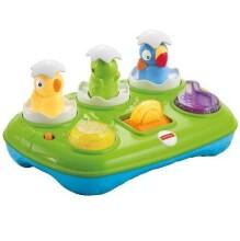 Fisher Price Musical Pop Up Eggs Art. Y8650 Attīstošā rotaļlieta 14935