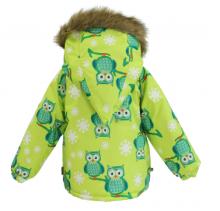 Huppa '16 Virgo Owl 1721BW Ziemas mazuļu termo jaka (80-104cm) krasa: O47
