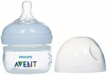 Philips AVENT SCF 699/17 Bisphenol A nesaturoša  barošanas pudelīte Natural (60ml,) ar ļoti lēnas plūsmas knupīti, 0M+