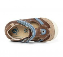 D.D.Step Art.015-96 Chocolate Ekstra komfortablas puišu sandalītes (19-24)