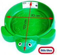 Little Tikes Art.173905E3 Green Smilšu kaste