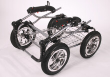 Bambi Classic Air Art.13 Bērnu klasiskie kulbu rati ar somu, īpaši viegls alumīnija rāmis [8kg], ar pumpejamiem riteņiem