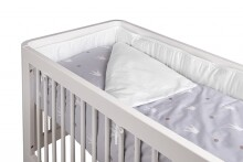 Troll Bedding Set for Crib 2 Royal White Gultas veļa komplekts šūpulītim 71343