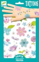 Djeco Tattoos Fair Flowers Art.DJ09585
